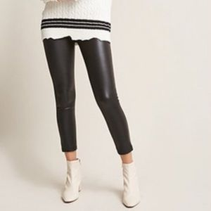 Forever 21 faux leather